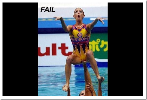 Women Sports Fail.
