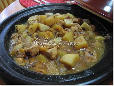tajine pollo e albicocche (2)
