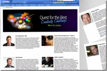 Corel-questforthebest-MeetJudges-2010