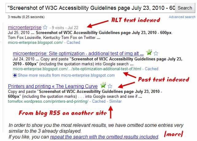 SEO experiments example 2