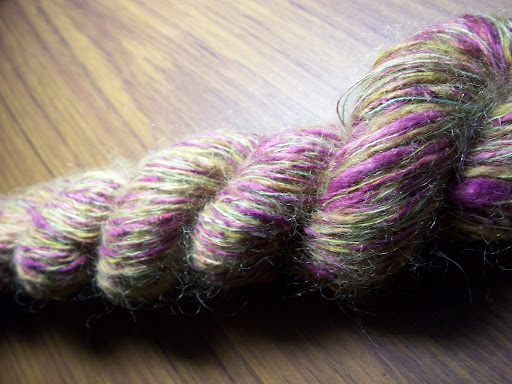 Finished skein.