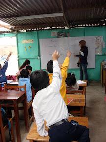 Vasilisa Teaching at USDA School (Alta Trujillo, Peru)