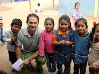 Joshua at USDA School (Alta Trujillo, Peru)