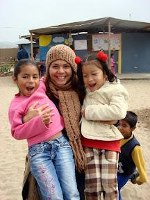Vasilisa at USDA School (Alta Trujillo, Peru)