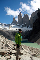 Joshua at Las Torres (Torres Del Paine, Chile)