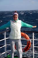 Vasilisa at Sea (Navimag Boat Trip, Chile)