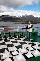 Vasilisa & The Giant Chessboard (Navimag Boat Trip, Chile)