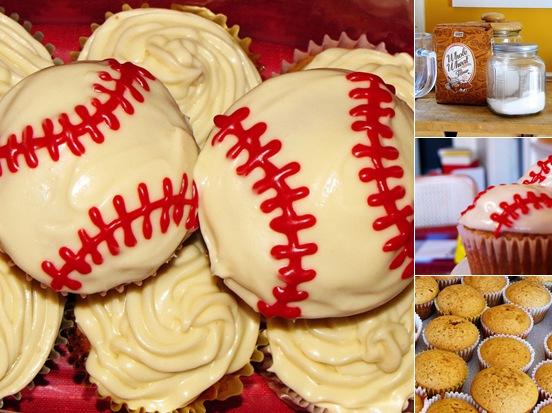 View Baseball Cupcakes