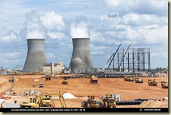 Vogtle nuclear construction