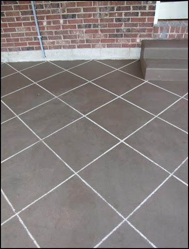 New Tile Patio Floor Reveal Beneath My Heart