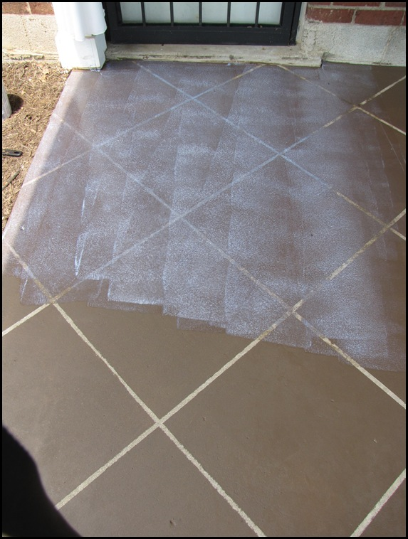 Beneath My Heart New Tile Patio Floor Reveal And