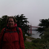 Stephanie is ready to cross the GGB