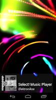 Screenshot of Select! Music Player Pro