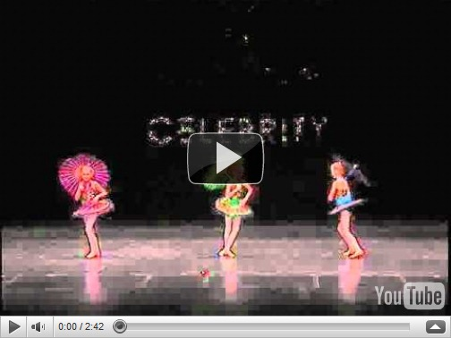 Celebrity dance competition videos