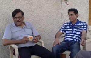 कुलपति जी और वित्त अधिकारी मो.शीस खान