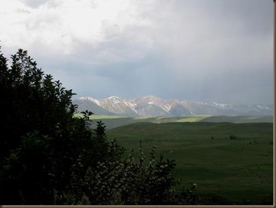 West Boulder storm