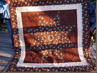 Katie and Michael&#39;s lonestar quilt