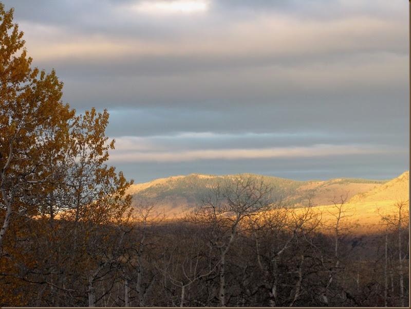 Sunrise on Mt Greeley