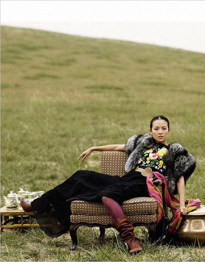 Zhang Ziyi Yu Tsai