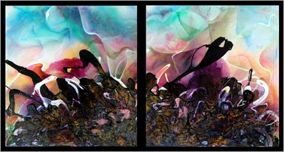 Dyptych 24 x 48 two 24x24 b2011