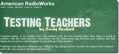 Testing Teachers