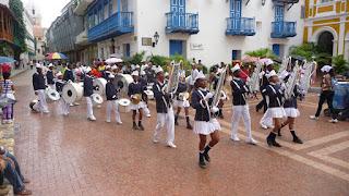 Paraden zum 200. Jahrestag der Unabhängigkeit von Kolumbien.