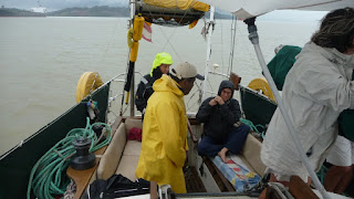 Tag 2: Es regnet im Gatun-See.