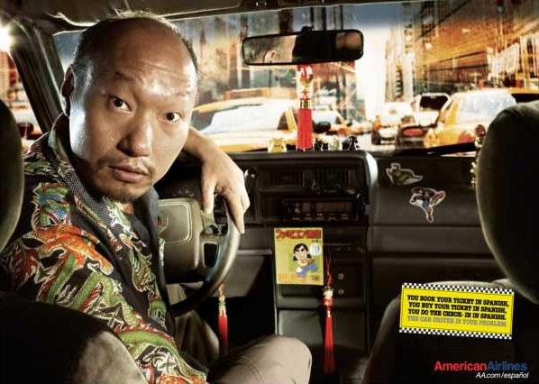 Thai taxi driver