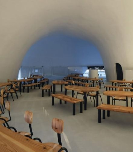 Japanese Architecture - New restaurant near to mountain Fuji