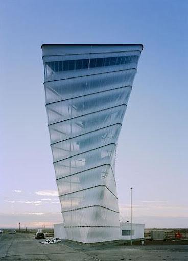 Tower in Berlin airport