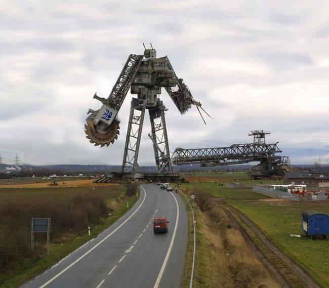 Robot-monument