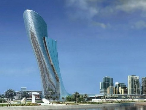 Capital Gate in Dubai
