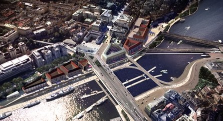Foster + Partners will Create a Quay of Stockholm