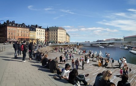 The central quay of Stockholm | world Architecture