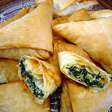 Spanakopita triangles