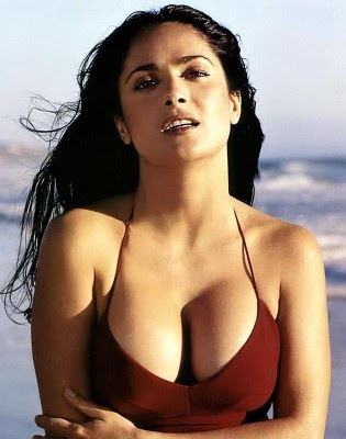 Salma Hayek Hot Bikini Photoshoot