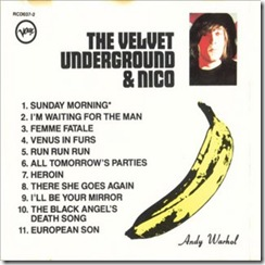 The Velvet Underground & Nico - Inlay