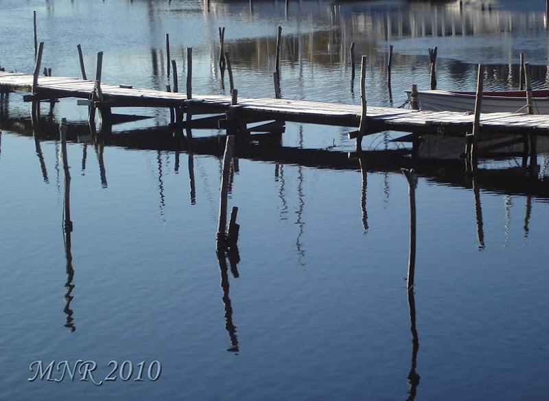 Tidig oktobermorgon i hamnen.