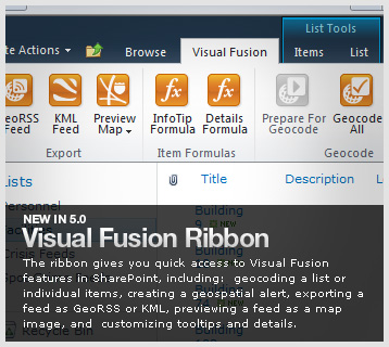 Visual Fusion Office Ribbon