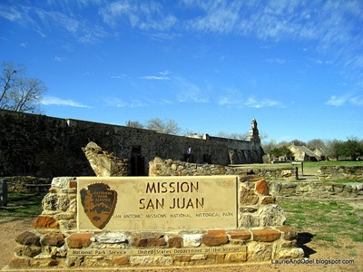 Mission San Juan, on the