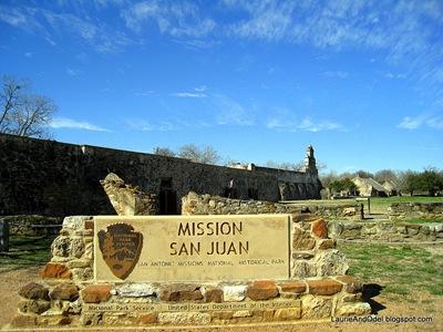 Mission San Juan, on the