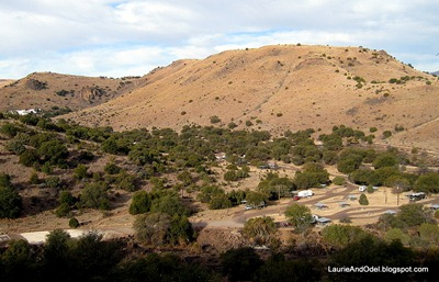 Overlooking Davis Mtn Campground