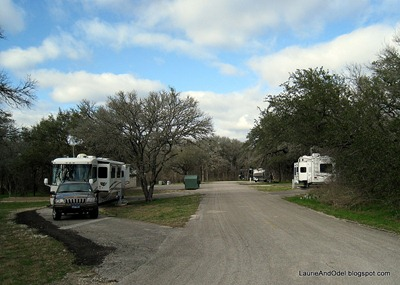 Looking North in Campground
