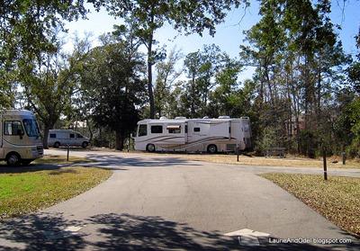 Site 9 Davis Bayou Campground