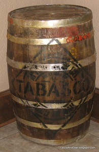 Tabasco barrel