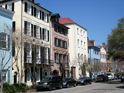 Rainbow Row - this was the original commercial section of town, pre-dating the Revolutionary War!