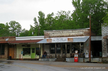 Taylor, MS, Main Street and the Taylor Grocery Restaurant - yep, really!