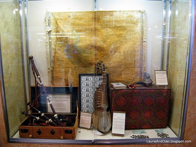 "Some of the strange and valuable items found in unclaimed baggage, from the ""museum""."