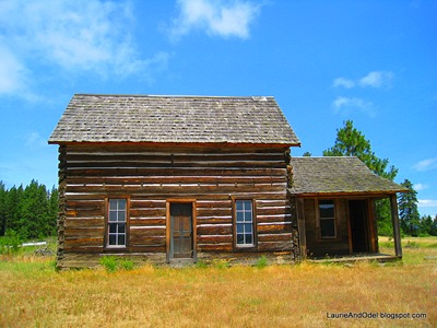 Homestead at the Conboy Lake NWR