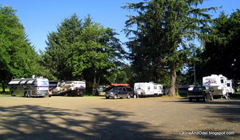 East Parking at Lincoln City Elks